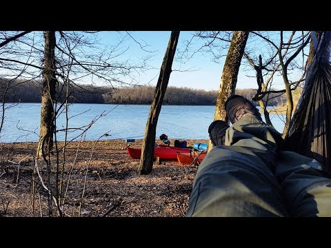 """HIGH WINDS"" | KAYAK CAMPING LAND BETWEEN THE LAKES, KY"