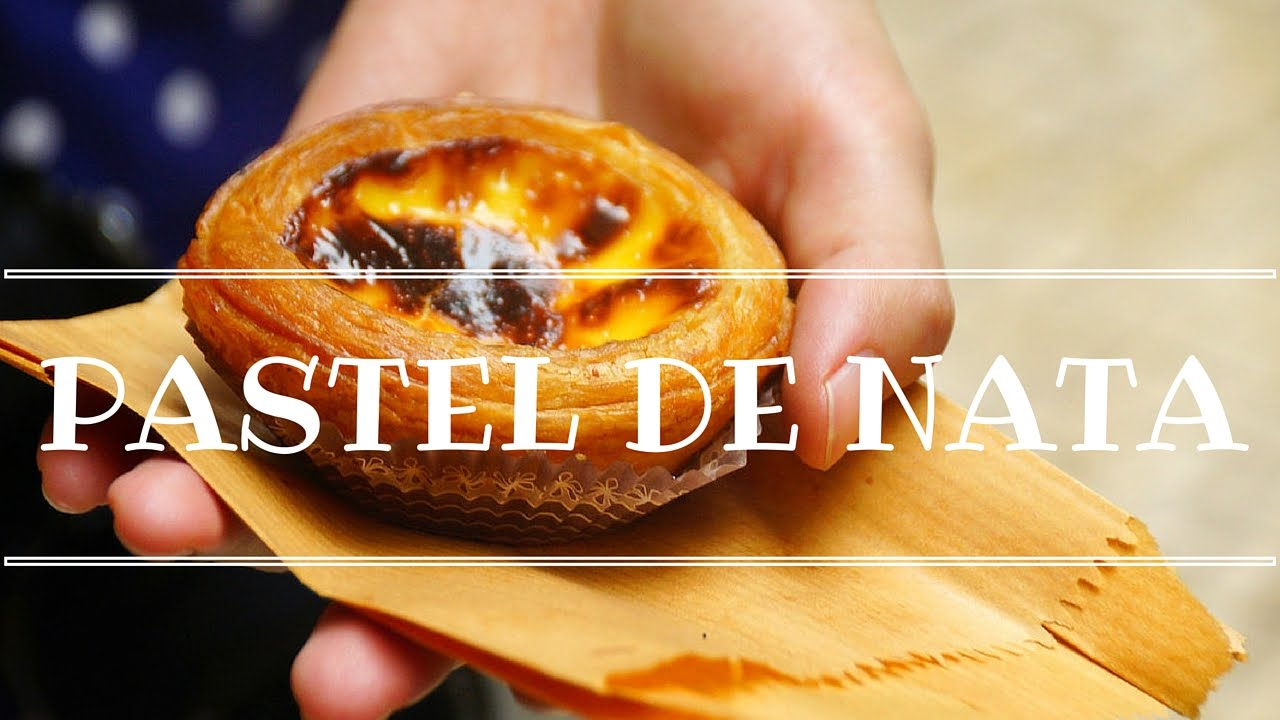How to make portuguese natas itsallaboutportugesedeserts - Pastel De Nata Eating Portuguese Egg Tarts From Past Is De Bel M In Lisbon Portugal Youtube