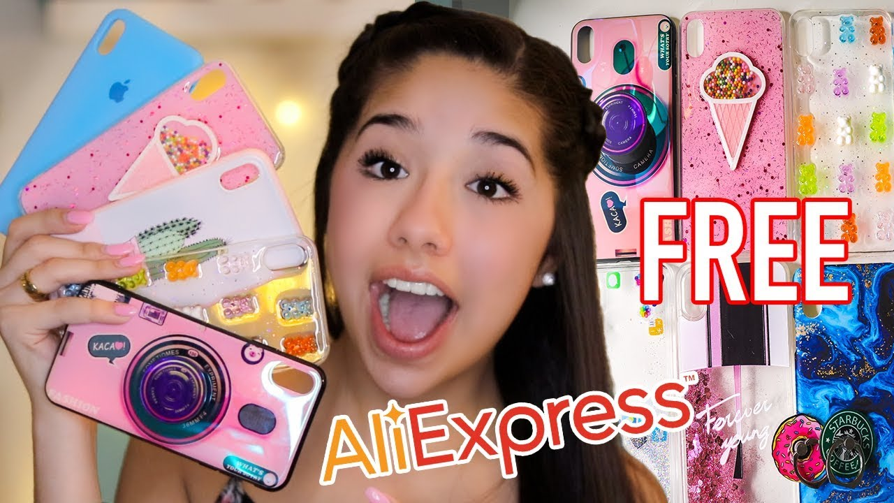 Unboxing Cheap iPhone Cases From AliExpress! +Giveaway