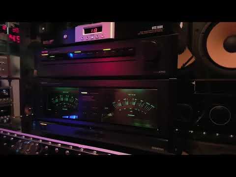 Grand integra onkyo M-508/P-308 test peak 200 WATTS RMS vintage audio crazy Eugène