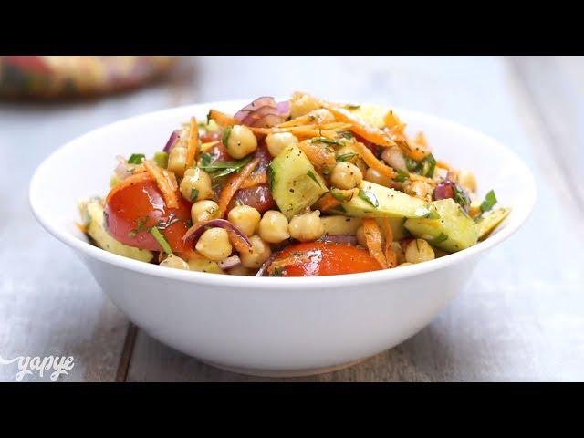 Avokadolu Nohut Salatası Tarifi, Nasıl Yapılır?