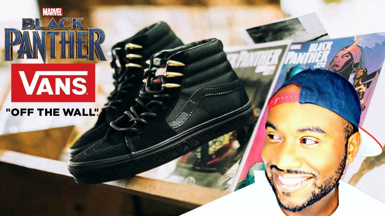 Marvel Black Panther Vans Review Custom Vans For Youtube Milestone