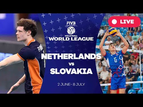 Netherlands v Slovakia - Group 2: 2017 FIVB Volleyball World League