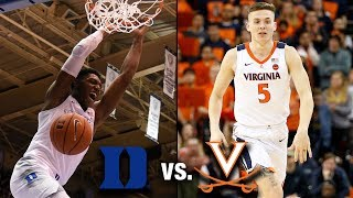 Duke vs. Virginia: Round Two Of An Epic Clash Awaits