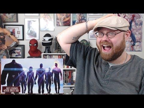 THE RETURN OF THE FANTASTIC FOUR - Teaser Trailer Reaction!!!