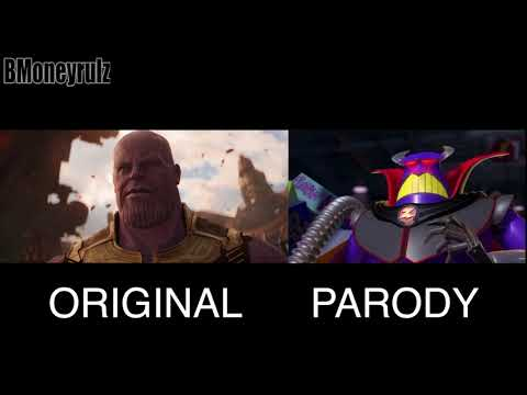 Disney/Pixar's AVENGERS: INFINITY WAR Side-By-Side w/ Original Trailer