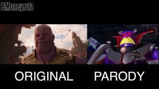 Disney/Pixar's AVENGERS: INFINITY WAR Side-By-Side w/ Original Trailer