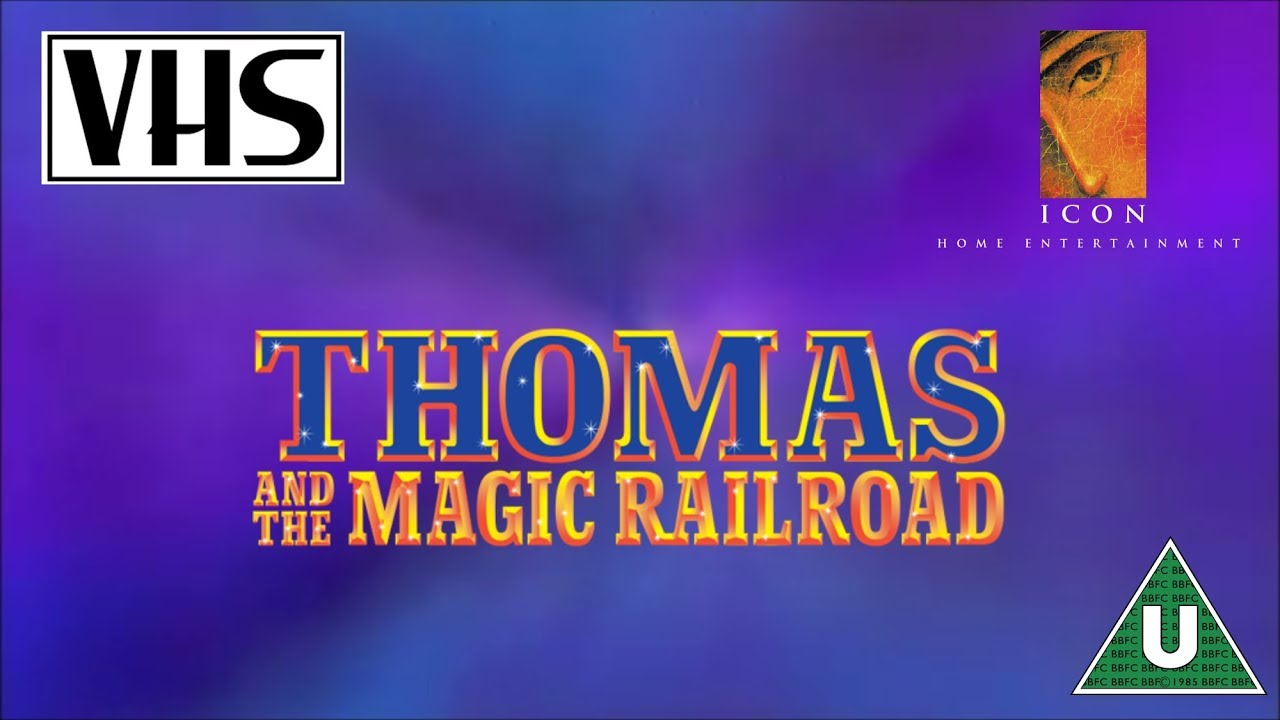 Opening To Thomas And The Magic Railroad Uk Vhs 2000
