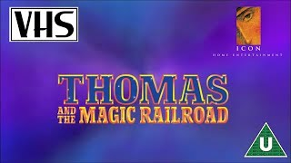 Opening to Thomas and the Magic Railroad UK VHS (2000)