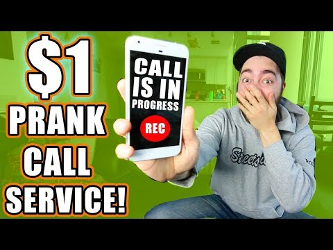"""Buying A """"Prank Phone Call"""" Service!"""