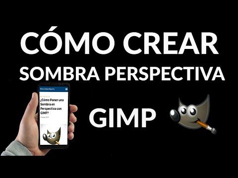 Cómo Crear Sombras en Perspectiva con GIMP