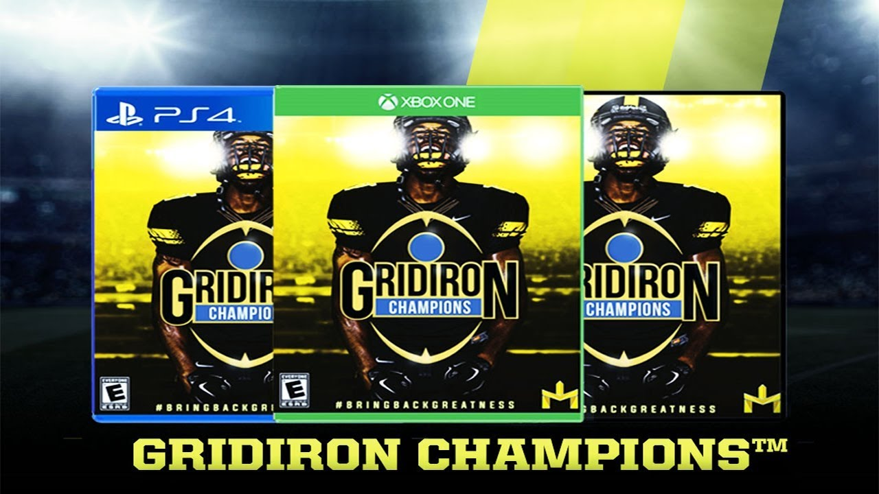 New College Football Game Gridiron Champions Coming To Ps4 Xbox