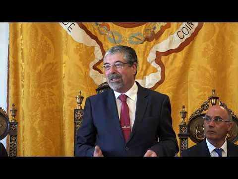Discurso do presidente da CMC Manuel Machado - Sessão Solene do Dia da Cidade de Coimbra