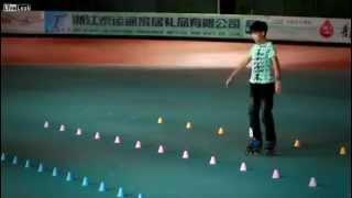 Video thể thao Thần đồng trượt Patin video the thao  Clip Dac Sac