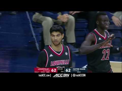 Louisville vs Notre Dame College Basketball Condensed Game 2018