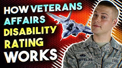 How Veterans Affairs Disability Rating Works