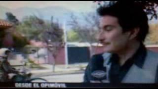 Felipe Avello - Pececillo haciendo una nota y aparecen los pacos