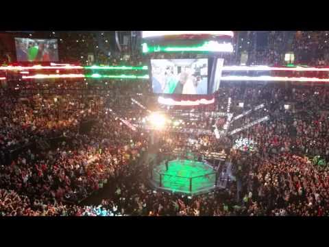 Mcgregor Vs Siver UFC Fight Night Boston Jan 2015