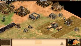Age of Empires 2 HD Edition - Genghis Khan - A Life of Revenge Walkthrough Gameplay