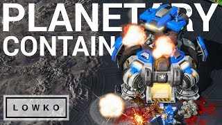 StarCraft 2: THE PLANETARY FORTRESS CONTAIN!