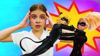 Куклы Леди Баг - Где Супер Кот? Мультики для девочек