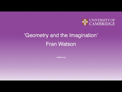 'Geometry and the Imagination' - Fran Watson