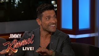 Mark Consuelos on Kelly Ripa