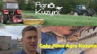 ☆Koszenie żyta, siew kukurydzy, naprawa łożyska☆Agro dniówka #1㋡Agro Kuzyna㋡