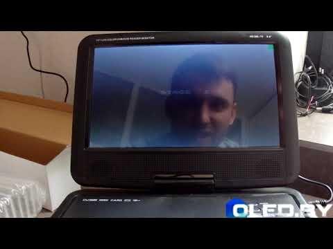 Портативный DVD-плеер ХРХ EA-9099DVB-T2. Полный обзор и запуск.