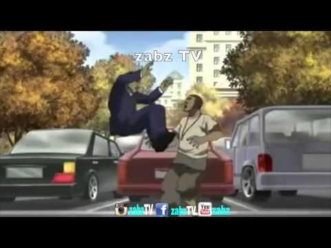 Jamaican lawyer boy VS young man gully bop ZABZ TV