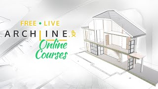 Live ARCHLine.XP Course Part 3 - Your First Section and Elevation