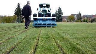 EcoTube Einbau in bestehende Rasenflächen
