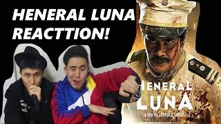 [Reaction #67] Koreans react to HENERAL LUNA TRAILER