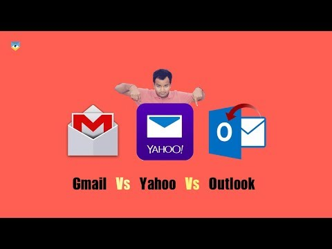 Gmail Vs Yahoo Vs Outlook Mail Services !! Which mail is Best !