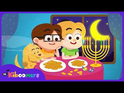 Hanukkah Oh Hanukkah Song for Kids | Chanukah Song | The Kiboomers