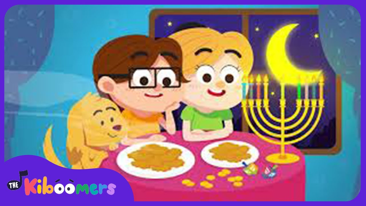 Hanukkah Oh Hanukkah Song For Kids | Chanukah Song | The Kiboomers   YouTube