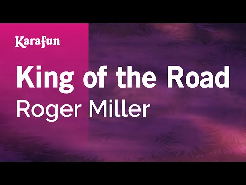 Karaoke King Of The Road - Roger Miller *
