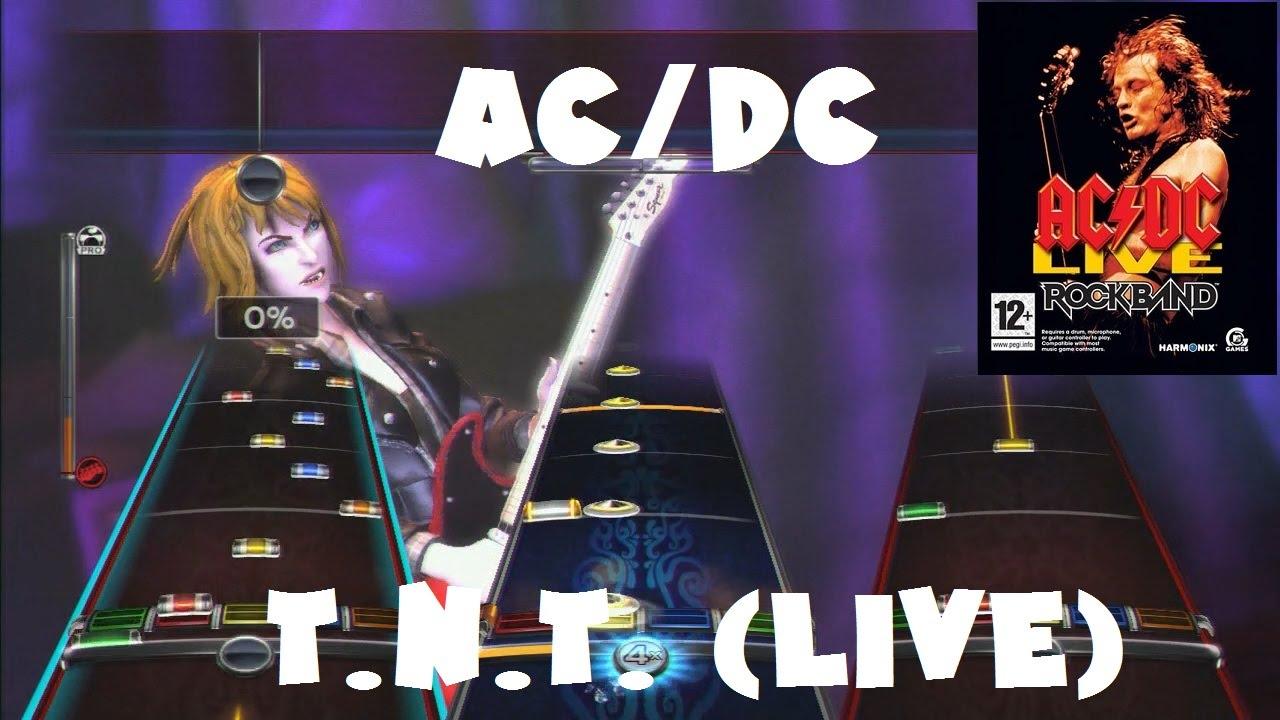 AC/DC - T.N.T. (Live) - AC/DC Live: Rock Band Track Pack Expert Full ...