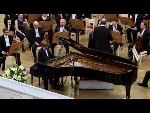 Олег Аккуратов. П.И.Чайковский. Концерт для фортепиано с оркестром №1
