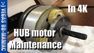 HUB Motor Required Maintenance - Ancheer AKA Eshion Cyclamatic Electric Bicycle 4K