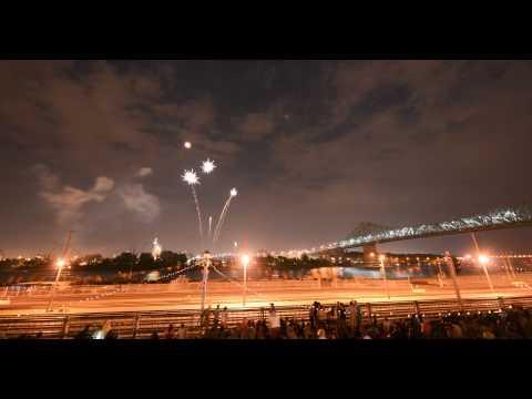 Montreal's Firework timelapse - Feux internationaux Loto Québec - 4K