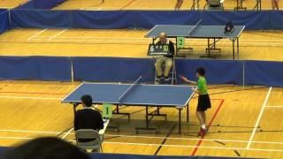 14-15 九北學界乒乓球比賽(男子甲組冠軍) 決賽第一場