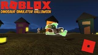 Roblox Dinosaurier Simulator Halloween - NEUE MAP UPDATE! Schneller Blick! (Kein Kommentar)