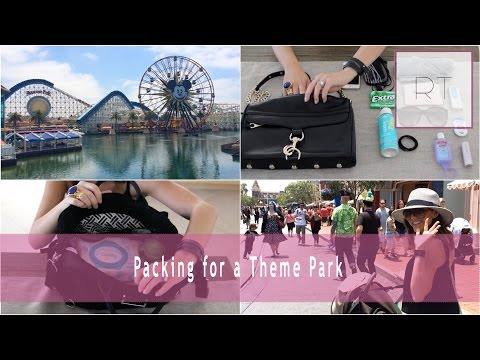 Packing For Theme Parks (My Purse + Tips 4 Moms) | Rachel Talbott