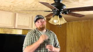 Which Way for a Ceiling Fan in Hot & Cold Weather? : Ceiling Fan Repair