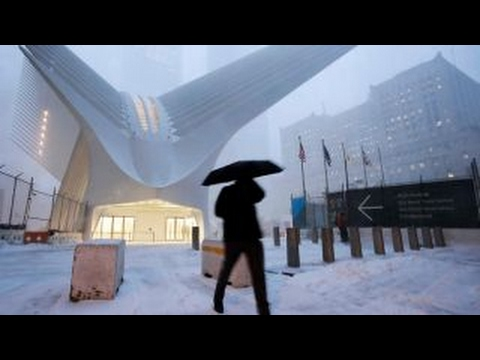 Snowstorm slams New York City