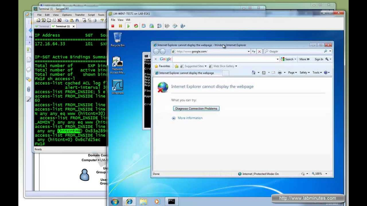 LabMinutes# SEC0063 - Cisco ISE 1 1 Security Group Access (SGA) with ASA  9 1 TrustSec (Part 2)