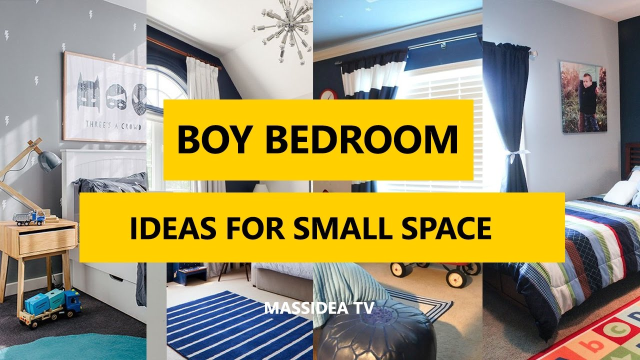 50+ Cools Boy Bedroom Designs Ideas for Small Space 2017 - YouTube