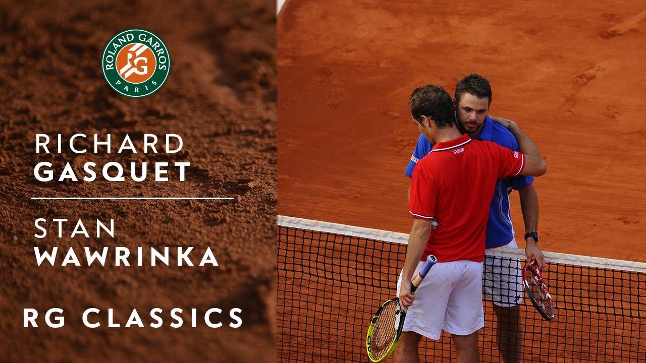 Classic match Richard Gasquet vs Stan Wawrinka | Roland-Garros 2013