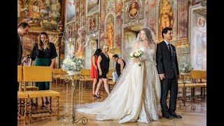 Свадьба в замке Троя Праги Яны и Андрея